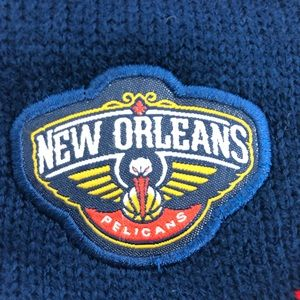 Accessories - New Orleans Pelicans Basketball Knit Beanie Hat